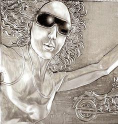 ArteyMetal: Retrato de Patricia