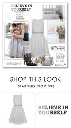 """""""Believe...."""" by sneky ❤ liked on Polyvore featuring Quiz, Chanel and sammydress"""