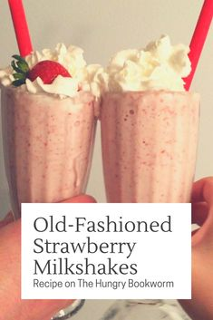 Your book club will love these drink recipes inspired by the contrasting relationships in Taylor Jenkins Reid's novel The Seven Husbands of Evelyn Hugo. Milkshake Recipes, Milkshakes, Hugo Book, Book Club Snacks, Old Fashioned Ice Cream, Strawberry Milkshake, Cream Soda, Strawberries, Milkshake