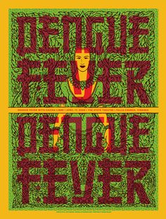 GigPosters.com - Dengue Fever - Chicha Libre