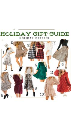 Getting dressed up for the holidays is one of our favorite parts of the season. Just because this year looks a little different, doesn't mean we aren't keeping this tradition alive! We are giving ourselves the gift of a new holiday dress! (How To, Infographic, Cute Casual Outfits)