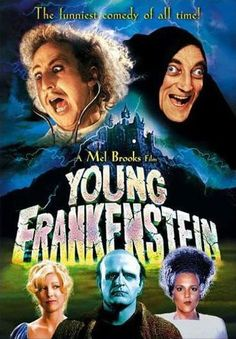 Young Frankenstein [DVD] Because our dads were dicks! Younger Frankenstein is coming, I promise you Funny Comedy, Funny Movies, Old Movies, Horror Movies, Funniest Movies, Comedy Movies, Watch Movies, Indie Movies, Scary Movies