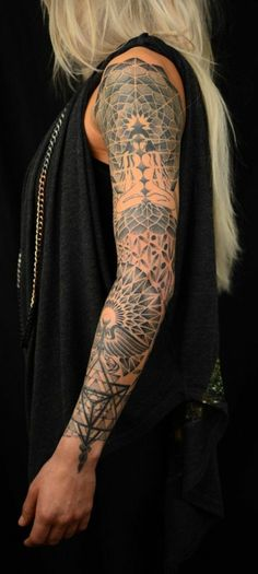 Mandala tattoo Lotus mandala sleeve