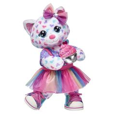 Sugar Scent Hearts Kitty Gift Set Sugar Scent Hearts Kitty Gift Set, Build-A-Bea. Sugar Scent Hearts Kitty Gift Set Sugar Scent Hearts Kitty Gift Set, Build-A-Bear Large Teddy Bear, Custom Teddy Bear, Jojo Siwa, Teddy Bear Cartoon, Build A Bear Outfits, Princess Toys, Baby Alive Dolls, Baby Doll Accessories, Plush Animals