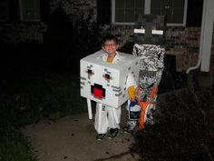 DIY Minecraft Halloween costume ideas kids halloween costumes Enderman