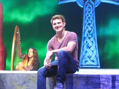 With Emmet Cahill Official Music at Celtic Thunder @ Sony Centre For The Performing Arts - Toronto, Canada.