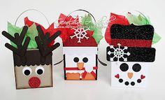 Christmas Favor Boxes