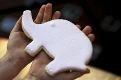Elephant shaped sugar cookies, Ian would love these! Pink Elephant Party, Elephant Shower, Baby Elephant, Pink First Birthday, First Birthday Parties, First Birthdays, Rolodex, Kids Decor, Ambition