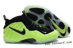 Nike Air Foamposite Pro Electric Green - Penny Hardaway Shoes