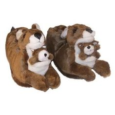 Kids Animal Slippers Sale Up to Off Funny Slippers, Kids Slippers, Animals For Kids, Youth, Teddy Bear, Comfy, Walmart, Slippers