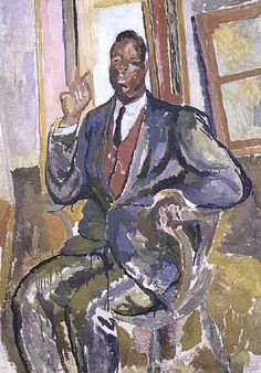 West Indian, Fitzroy Street by Duncan Grant, 1918