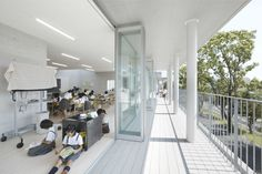 C+A - Coelacanth and Associates | 宇土市立宇土小学校 Outdoor Learning Spaces, Education Architecture, After School, Elementary Schools, Outdoor Decor, Kindergarten, Home, School Children, Thesis