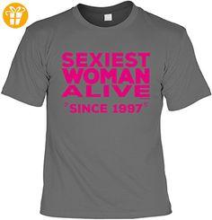Cooles T-Shirt zum 20. Geburtstag Sexiest Woman Alive since 1997 Geschenk zum 20 Geburtstag 20 Jahre Geburtstagsgeschenk Geschenk 20-jährige (*Partner-Link)