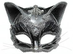 Cat Mask Masquerade Masks Marquise Therese