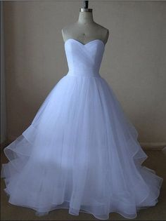 Charming Prom Dress,Sleevelss Sweetheart Neck Wedding Dresses,Sexy Prom