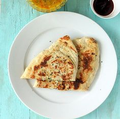 Naan - Plain, garlic, stuffed.  Vegan Recipe