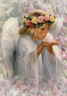 ZOOM FRASES: angeles niños para compartir