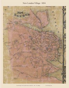 New London Village 1854  http://www.old-maps.com/ct/newlondon/CT-NewLondonCo54_Towns/New_London_Village_1854_web.JPG