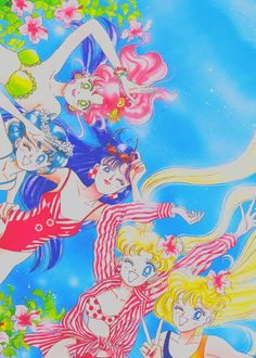 protectthestars:    the Sailor Senshi