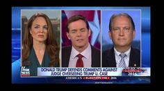 Donald Trump says: Muslim judges might not treat him fairly either Fox N...