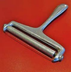 ❥ 1950s Velveeta Cheese Slicer. Wow...I didn't know these were that old. I still have my mom's.