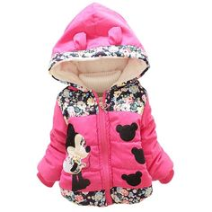Minnie Mouse Winter Hooded Coat 6M-4T (3 colors)     Tag a friend who would love this!     FREE Shipping Worldwide     Buy one here---> https://topkidzshop.com/minnie-mouse-winter-hooded-coat-6m-4t/