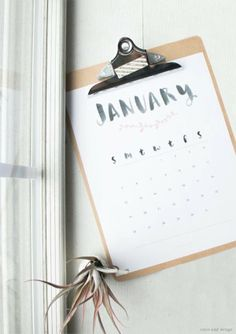 10 Lovely Free Printable Calendar Templates To Download.