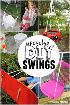 upcycled swings