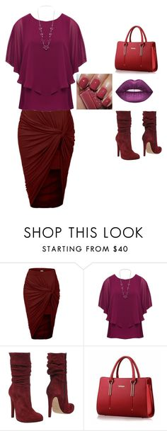 """""""set 88"""" by nudzi-ded ❤ liked on Polyvore featuring LE3NO, M&Co and Jolie By Edward Spiers"""