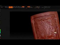 Hardsurface Zbrush and normal maps part 1 - YouTube