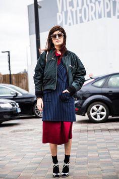 Fashion Week de Londres Automne/Hiver 2016 | Street Style
