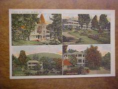 VA-NATURAL-BRIDGE-Multiview-W-E-BURGESS-SCOTTSVILLE-VA-Postcard