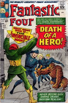 Fantastic Four 32 - Stan Lee and Jack Kirby