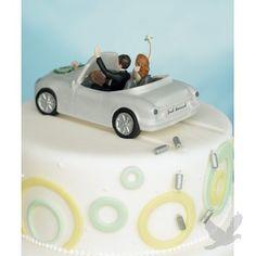 Honeymoon Bound Cake Toppper