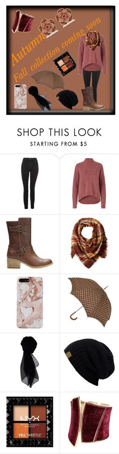 """Get Ready For Fall🍁🍂"" by unitaiyo ❤ liked on Polyvore featuring Topshop, Clarks, La Fiorentina, Louis Vuitton, KOCCA, GUESS by Marciano and Allurez"