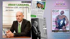 Entrevista a Iñigo Lamarca, defensor LGBT, del pueblo, de todos. - Revista gay EGF and the City