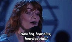 Florence + the Machine at Lollapalooza Brazil 2016 #HowBeautifulTour #gif