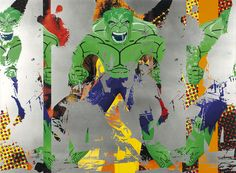 Jeff Koons, Triple Hulk Elvis III, 2007, Oil on canvas, Collection Astrup Fearnley Museet, Oslo