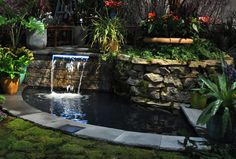Tucked behind the big showcase exhibits are jewel-like small landscape displays that are packed with great ideas on ways to approach your own backyards and landscapes. Here are three; all very diff...