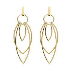 9CT GOLD OSTARA EARRINGS