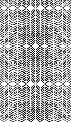 black and white herringbone pattern (Universe Mininga)