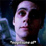 Nogitsune Stiles is evil but I loved these parts of the season soooooo much :D Teen Wolf Ships, Teen Wolf Boys, Teen Wolf Dylan, Teen Tv, Teen Wolf Quotes, Teen Wolf Memes, Stydia, Sterek, Dylan Obrian