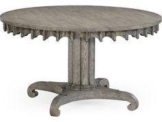 Foyer Table Oak : Jonathan charles william yeoward greyed oak round foyer table