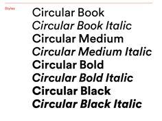 LL Circular — Lineto's / Laurenz Brunner's new geometric sans serif - fantastic font! Ttf Fonts, Sans Serif Fonts, Typographic Design, Graphic Design Typography, Design Logo Inspiration, Circle Font, Font Combinations, Retro Poster, Type Posters