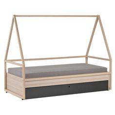 Wyatt Trundle Platform Bed Amp Canopy Pottery Barn Kids
