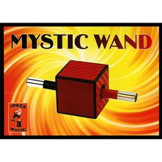 Mystic Wand by Joker Magic - The magician shows the audience a small black magic wand and a large cube. In the middle of the cube there is a hole just big enough so that the wand can be pushed through it. The magician does so, as shown in the diagram. What is this' The wand is getting smaller and smaller and almost completely disappears into the cube! Wait a minute, now its ... get it here: http://www.wizardhq.com/servlet/the-16871/mystic-wand-by-joker-magic/Detail?source=pintrest