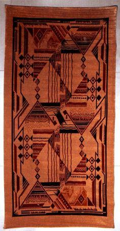 Art Deco Navajo Dakota wandkleed / tapestry.