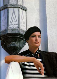 """lalinda-evangelista: """"Ralph Lauren (1990) Model: Linda Evangelista """""""