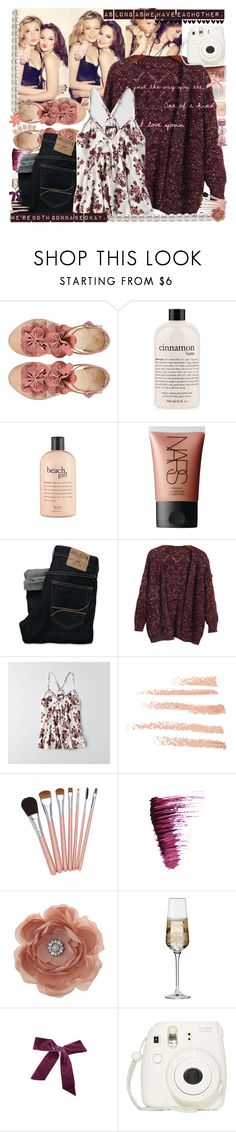 """""""As long as we have eachother."""" by sammylynn ❤ liked on Polyvore featuring philosophy, NARS Cosmetics, Hollister Co., Chicnova Fashion, American Eagle Outfitters, Urban Decay, Miss Selfridge, Krosno and Fujifilm"""