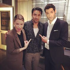 """Pej Vahdat (@pejvahdat) on Instagram: """"Fine I'll take a pic with you two! These guys are truly great people as well as fantastic talents.…"""" 